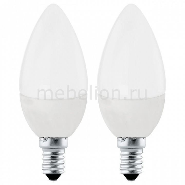 Комплект из 2 ламп светодиодных [поставляется по 10 штук] Eglo Комплект из 2 ламп светодиодных Valuepack E27 4000K 220-240В 4Вт 10793 [поставляется по 10 штук] комплект из 2 ламп светодиодных eglo led лампы g4 2700k 220 240в 1 2вт 11551