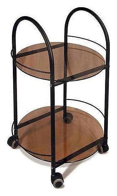 Стол сервировочный Гольф черный