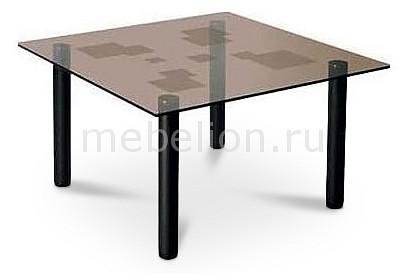 Стол журнальный Мебелик Робер 9М черный