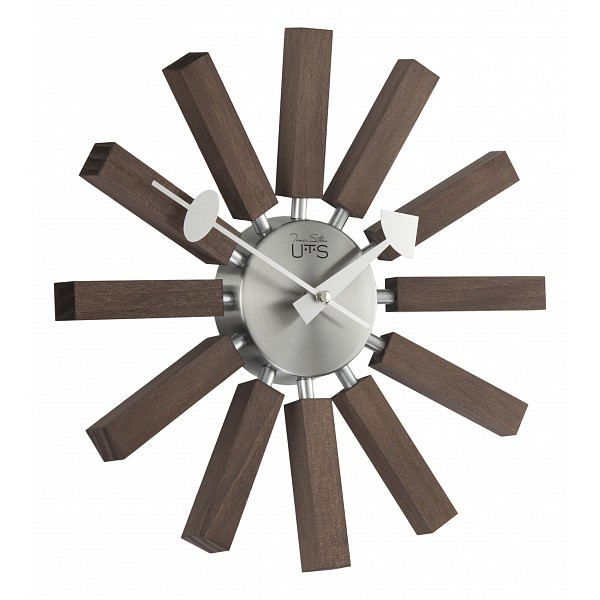 Настенные часы Tomas Stern(33 см) Tomas Stern 8006Артикул - ANK_8006,Бренд - Tomas Stern (Германия),Серия - Tomas Stern 80,Диаметр, мм - 330,Материал - дерево, металл,Цвет - коричневый,Тип поверхности - матовый,Необходимые компоненты - 1 батарейка АА,Дополнительные параметры - кварцевый механизм Young Town<br><br>Артикул: ANK_8006<br>Бренд: Tomas Stern (Германия)<br>Серия: Tomas Stern 80<br>Диаметр, мм: 330<br>Материал: дерево, металл<br>Цвет: коричневый<br>Тип поверхности: матовый<br>Необходимые компоненты: 1 батарейка АА<br>Дополнительные параметры: кварцевый механизм Young Town