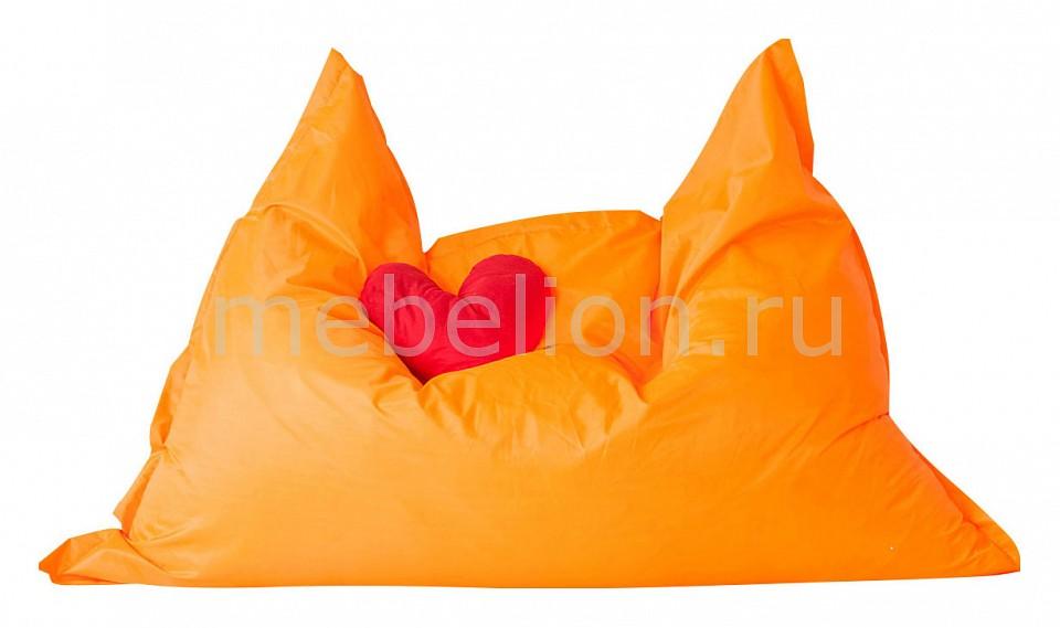 Кресло-мешок Подушка оранжевое  детский диван кровать своими руками