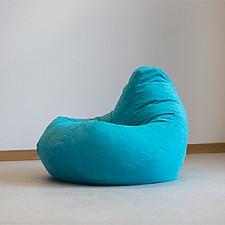 Кресло-мешок Бирюзовая замша II