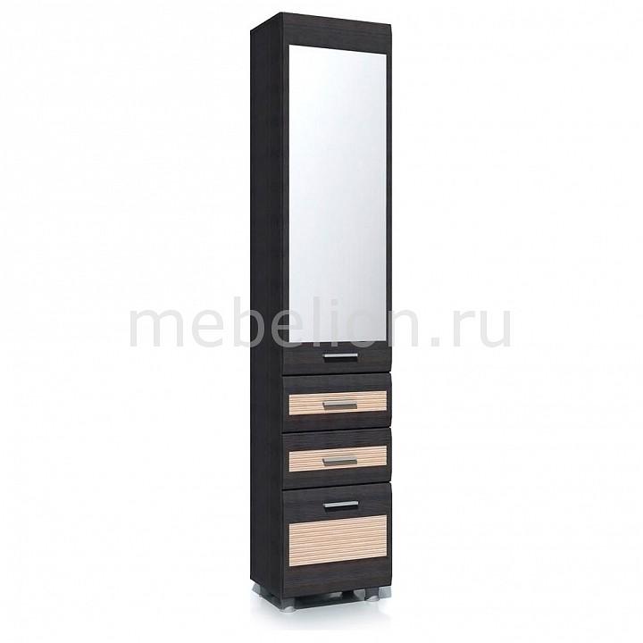 Шкаф для белья Капри НМ 014.62 ЛР