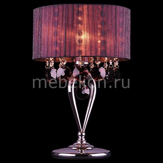 Настольная лампа Eurosvet декоративная 3153/1T хром/гранатовый Strotskis eurosvet декоративная 622 pico 1
