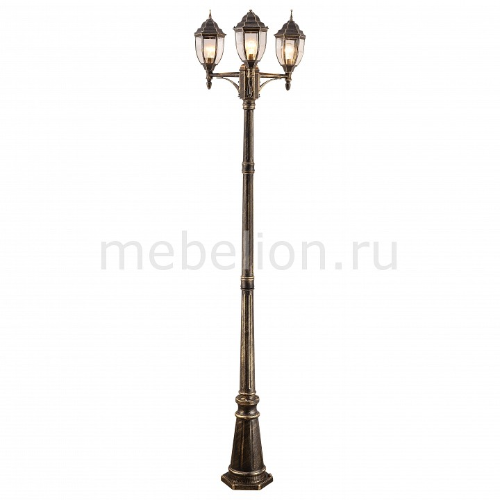 Фонарный столб Arte Lamp 3151 A3151PA-3BN arte lamp фонарный столб arte lamp vena a1317pa 3bn