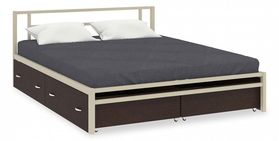 Кровать двуспальная МФ 4 Сезона Титан