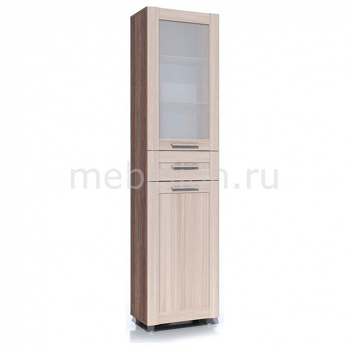 Шкаф-витрина Сильва Фиджи НМ 014.05 РС книги