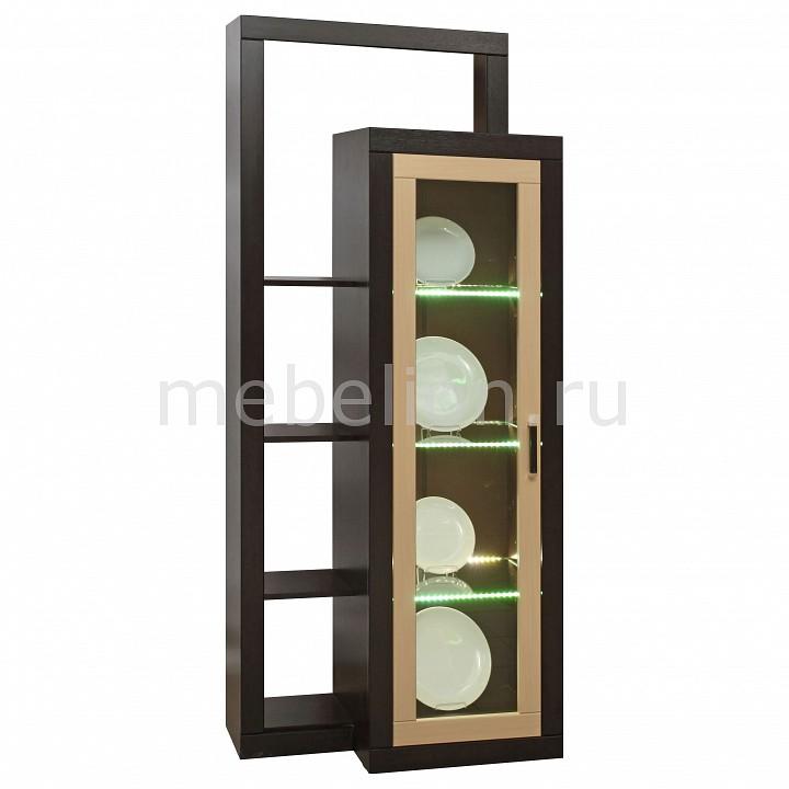 Шкаф комбинированный Венеция 12.18 венге/клен азия