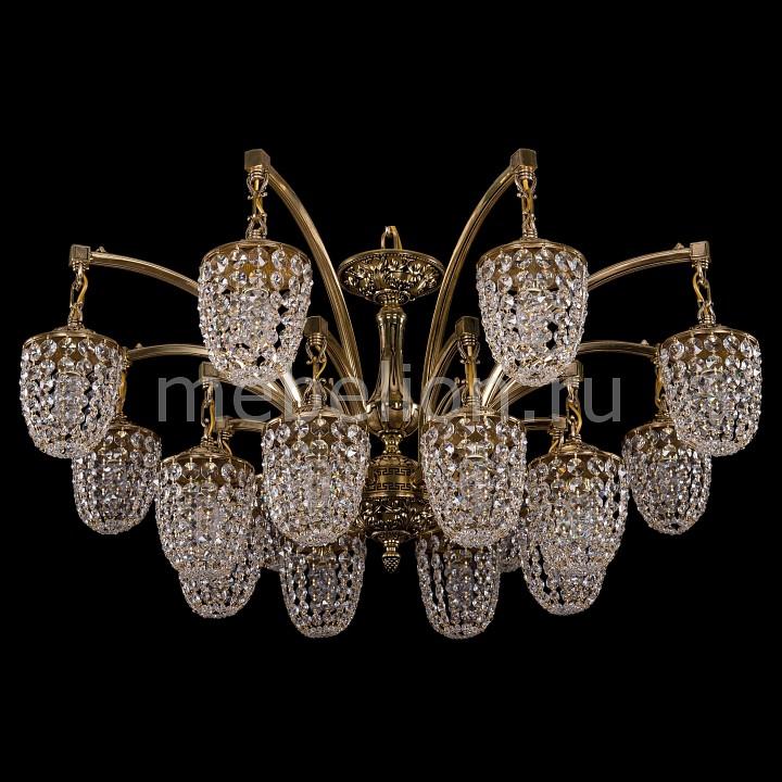 Подвесная люстра Bohemia Ivele Crystal 1772/16/342/GB 1772