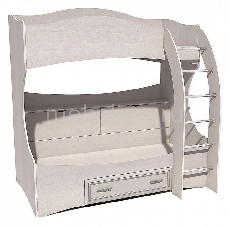 Кровать двухярусная Сильва Прованс Шери НМ 011.74 шкаф комбинированный прованс нм 009 23