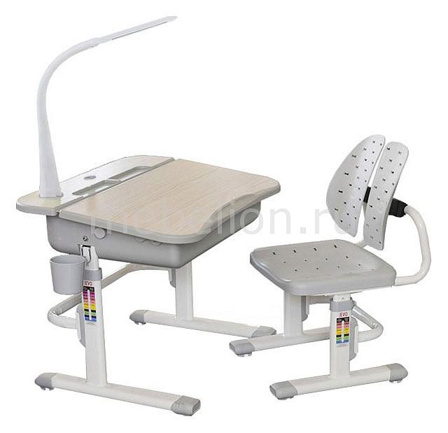 Набор учебный Mealux Mealux EVO-03 с лампой комплект парта и стул mealux evo 02 с лампой
