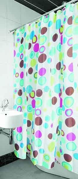 Штора для ванной AryaColorull AR_F0010524Артикул - AR_F0010524, Бренд - Arya (Турция), Размер - 180 x 180 см, Материал - полиэстер 100%, Цвет - белый, розовый, серый, голубой, Тип отделки - цветная печать, Тема отделки - геометрия круги, Упаковка - пакет из ПВХ<br><br>Артикул: AR_F0010524<br>Бренд: Arya (Турция)<br>Размер: 180 x 180 см<br>Материал: полиэстер 100%<br>Цвет: белый, розовый, серый, голубой<br>Тип отделки: цветная печать<br>Тема отделки: геометрия круги<br>Упаковка: пакет из ПВХ