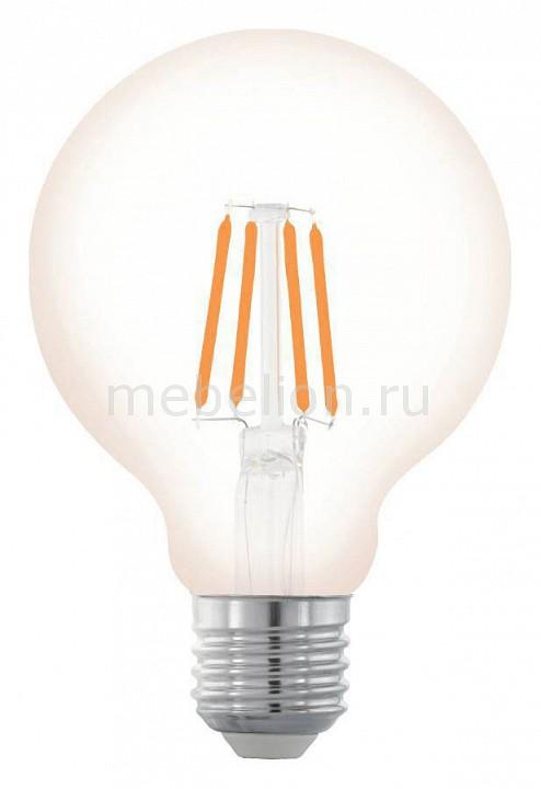 Лампа светодиодная Eglo Винтаж E27 220В 4Вт 2200K 11706 лампа светодиодная eglo винтаж 11707