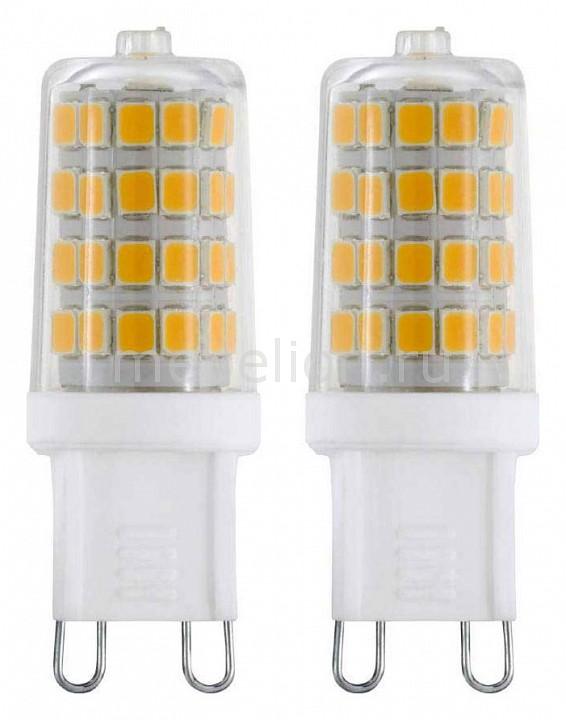 Комплект из 2 ламп светодиодных Eglo G9 3Вт 220В 4000K 11674 комплект из 2 ламп светодиодных eglo g9 3вт 220в 4000k 11675