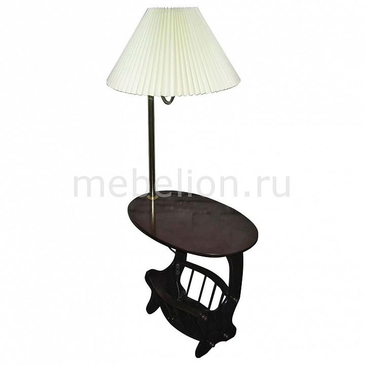 Стол журнальный с торшером 20649 махагон mebelion.ru 2366.000