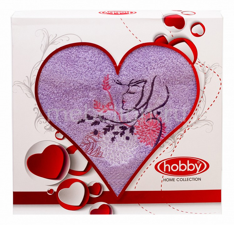где купить  Полотенце для лица HOBBY Home Collection (50х90 см) LOVE  по лучшей цене
