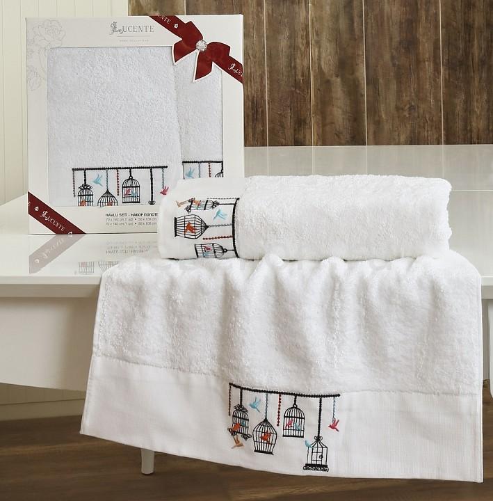 Набор полотенец для ванной Karna Набор из 2 полотенец для ванной KATİA karna karna кухонный набор из 2 полотенец avze v21