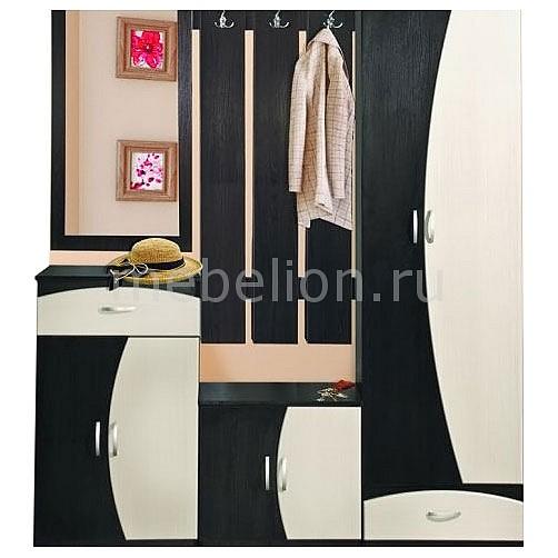 Стенка для прихожей Олимп-мебель Визит-М11 2248527 венге/клен азия