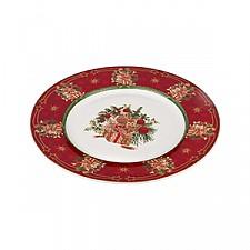 Тарелка плоская АРТИ-М (25.9х2.2 см) Christmas collection 586-315