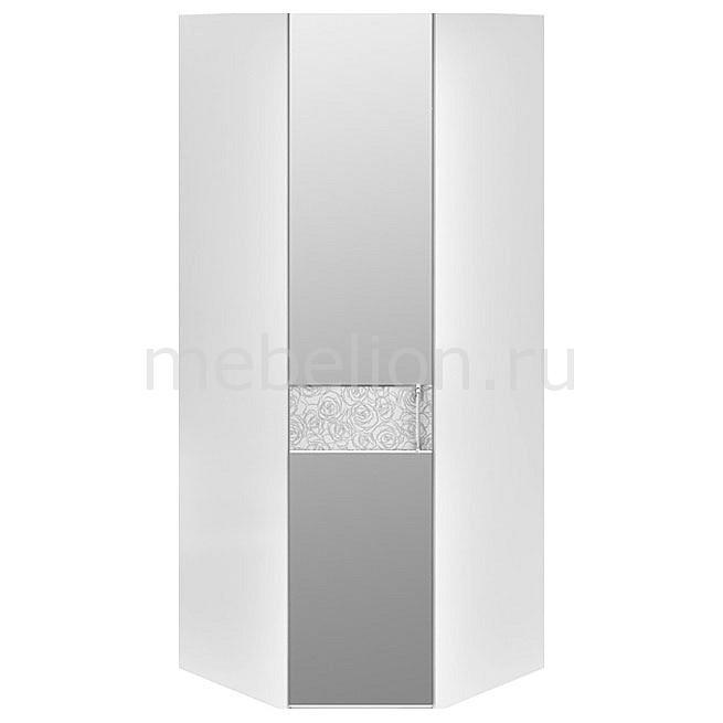 Купить Шкаф платяной угловой Амели СМ-193.07.007 L белый глянец, Мебель Трия, Россия
