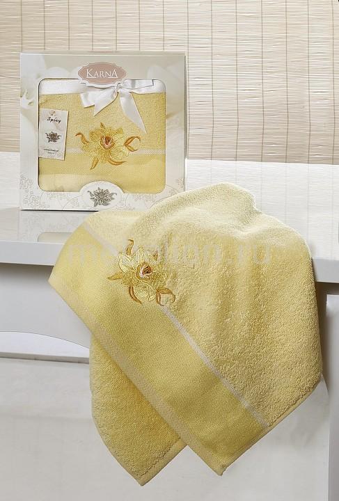 Полотенце для лица Karna (50x90 см) SPRAY полотенце karna цвет желтый