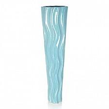 Ваза напольная Home-Philosophy (69 см) Aquamarine 240303