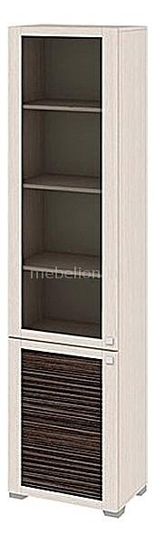 Шкаф-витрина Мебель Трия Фиджи ШК(07)_32-21_17 дуб белфорт/каналы дуба шкаф витрина мебель трия фиджи шк 07