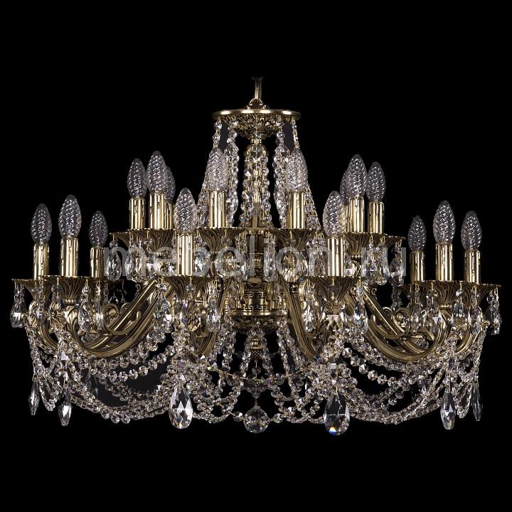 Подвесная люстра Bohemia Ivele Crystal 1703/20/320/C/GB 1703