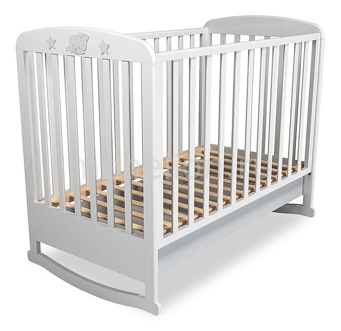 Кроватка Сильва Лилу НМ 041.04