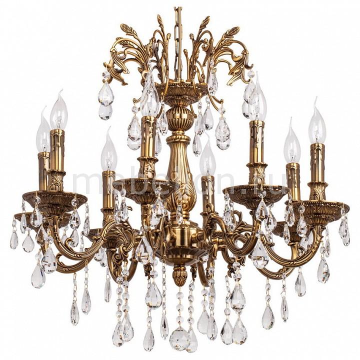 Купить Подвесная люстра Свеча 1 301015108, MW-Light, Германия