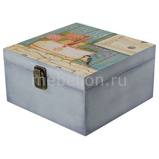 Шкатулка декоративная (24х24х13 см) Прованс 1012-4
