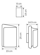 Накладной светильник Lightstar 811617 Simple light 811