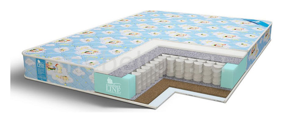Матрас детский Comfort Line Baby Eco Hard TFK 1600x700 матрас dreamline eco hol tfk 150х195 см