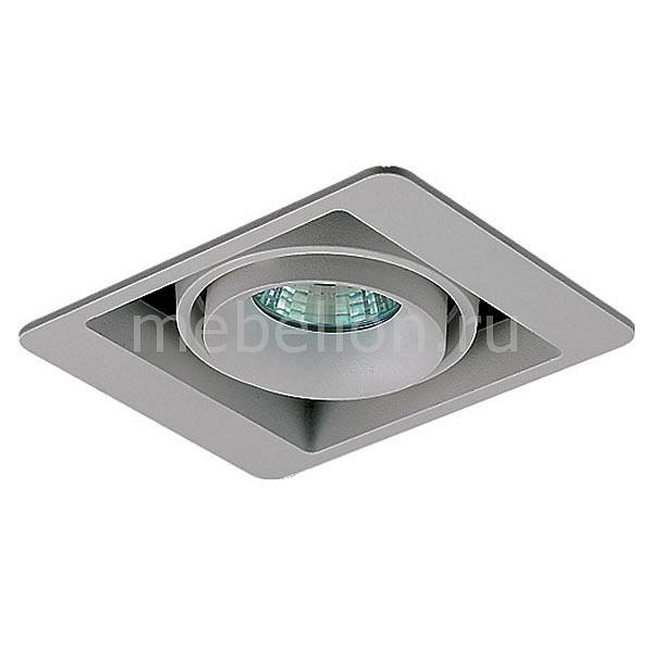 Встраиваемый светильник Donolux DL18615/01WW-SQ Silver Grey/Black светильник donolux dl18615 dl18615 02ww sq shiny black black