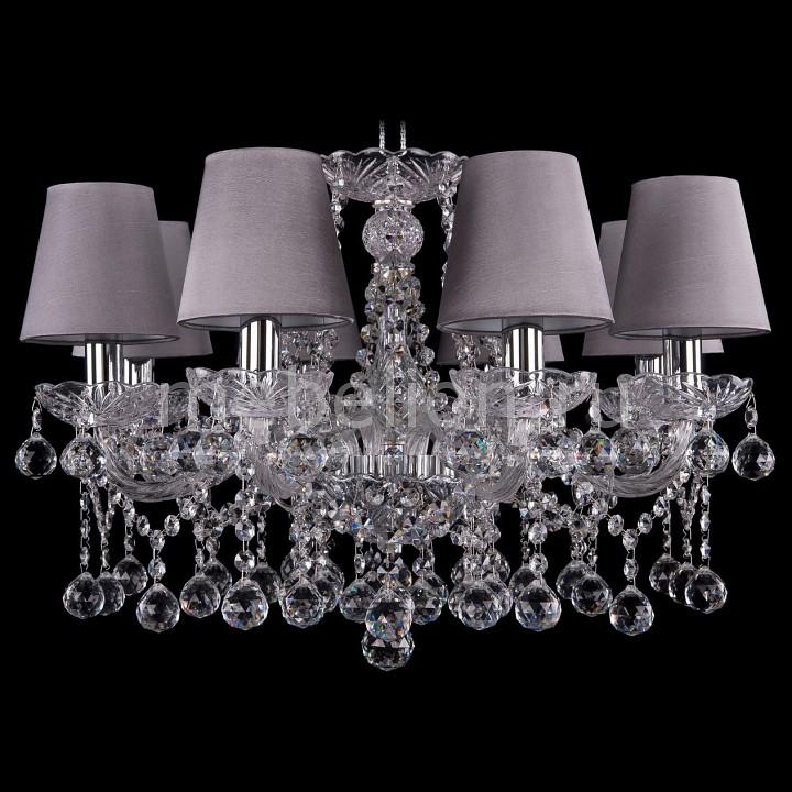 Подвесная люстра Bohemia Ivele Crystal 1413/8/200/Ni/Balls/SH24 bohemia ivele crystal 1413 8 200 ni balls