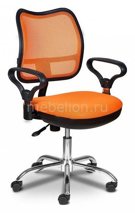 Кресло компьютерное Бюрократ Бюрократ CH-799SL оранжевое бюрократ ch 799sl or tw 96 1