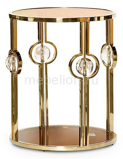 Купить Стол журнальный 13RXET6034-GOLD, Garda Decor, Россия
