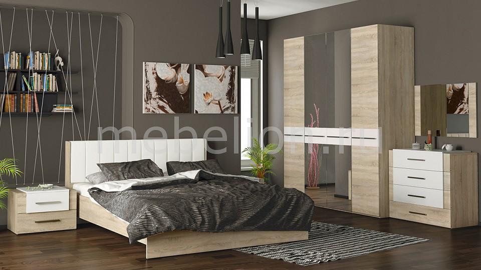 Гарнитур для спальни Мебель Трия Ларго ГН-181.002 cтенка для гостиной трия нео пм 106 00 дуб сонома