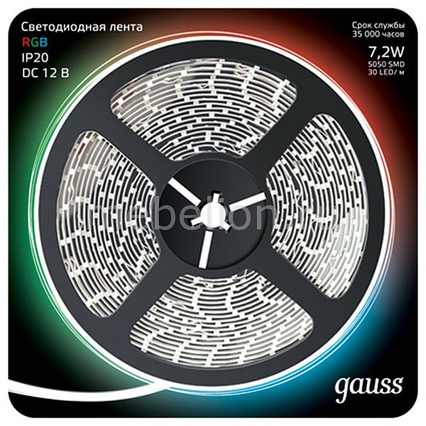 Лента светодиодная Gauss Gauss 312000407