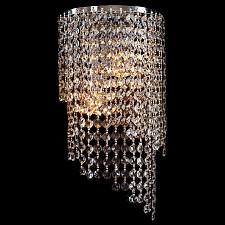 Накладной светильник 3102/2 хром/прозрачный хрусталь Strotskis