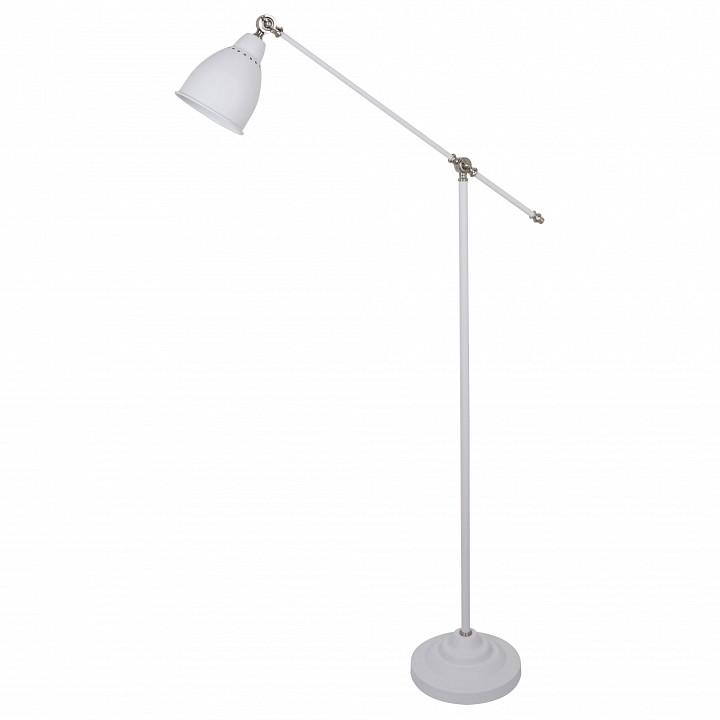 Купить Торшер Braccio A2054PN-1WH, Arte Lamp, Италия