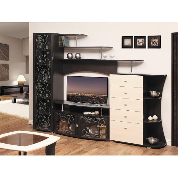 Стенка для гостиной Олимп-мебель
