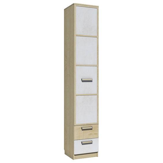 Шкаф для белья Фанк НМ 013.01-02 М