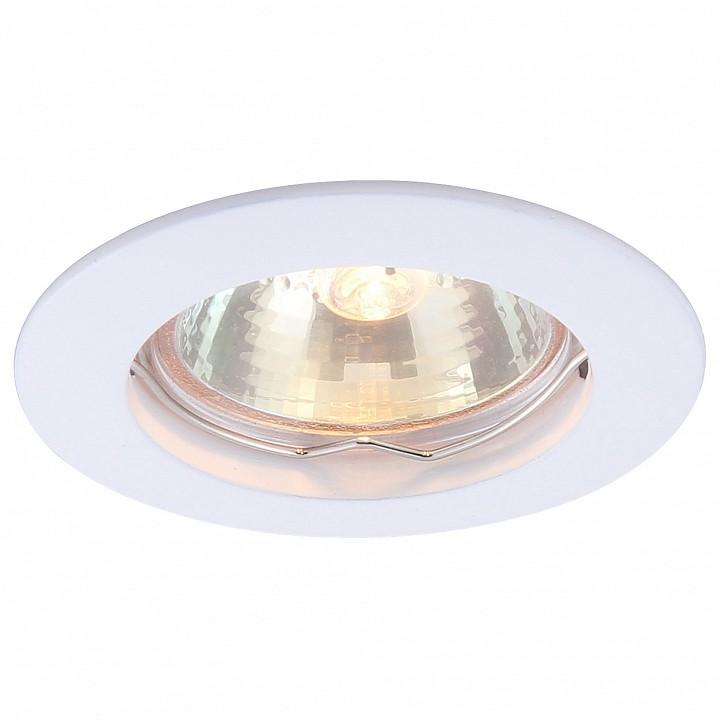 все цены на  Встраиваемый светильник Arte Lamp Basic A2103PL-1WH  онлайн