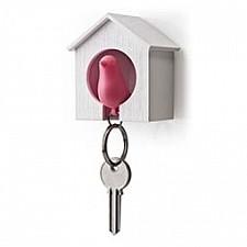 Ключница Umbra (6.8х7.3 см) Qualy QL10091-WH-PK