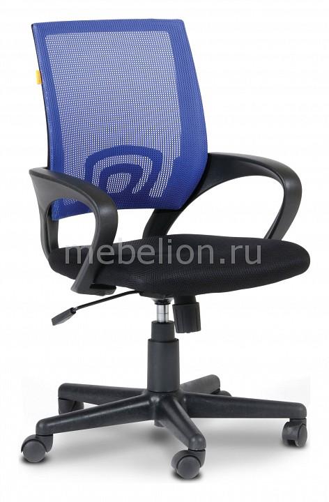 Кресло компьютерное Chairman 696 синий/черный  пуфик для секса