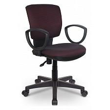Кресло компьютерное Бюрократ CH-626AXSN бордовое