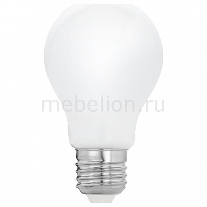 Лампа светодиодная [поставляется по 10 штук] Eglo Лампа светодиодная Милки E27 8Вт 2700K 11596 [поставляется по 10 штук] лампа светодиодная [поставляется по 10 штук] eglo лампа светодиодная g80 e27 2вт 2200k 11556 [поставляется по 10 штук]