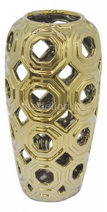 Ваза настольная (31 см) Black & Gold 25365