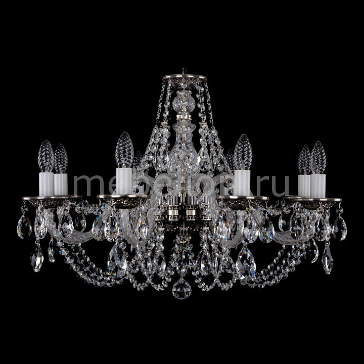 Подвесная люстра Bohemia Ivele Crystal 1606/8/240/NB 1606